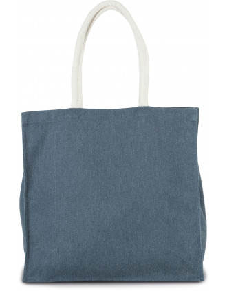 Grand sac shopping en polycoton