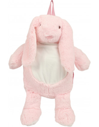 Sac à dos lapin rose