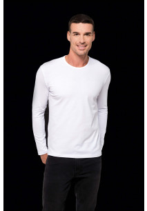 HELIOS > T-SHIRT COL ROND MANCHES LONGUES