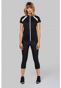 MAILLOT CYCLISTE MANCHES COURTES FEMME
