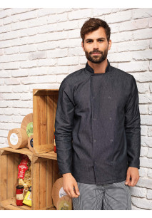Veste Denim chef cuisinier