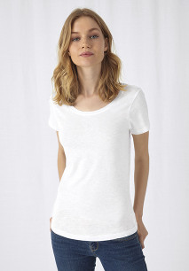 T-shirt Organic Slub Inspire Femme
