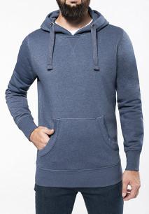 """Sweat-shirt capuche """"mélange"""" homme"""