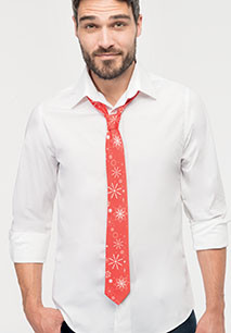 Cravate Noël