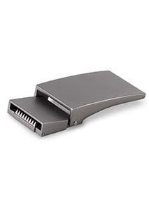 Boucle en métal pour ceinture en silicone