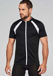 MAILLOT CYCLISTE MANCHES COURTES