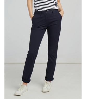 Pantalon Chino Stretch Femme