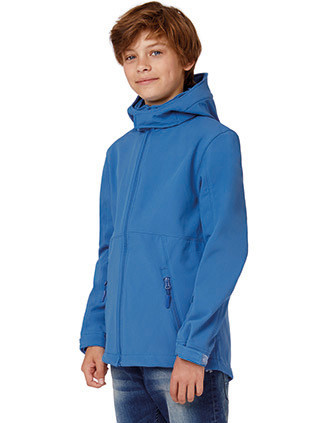 Veste softshell capuche enfant