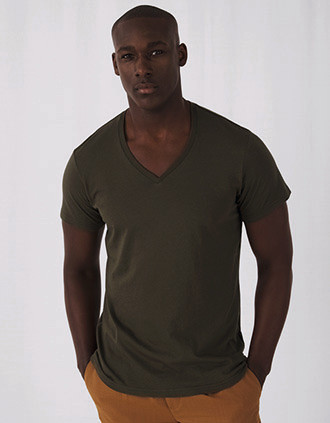 T-shirt BIO Inspire col V Homme