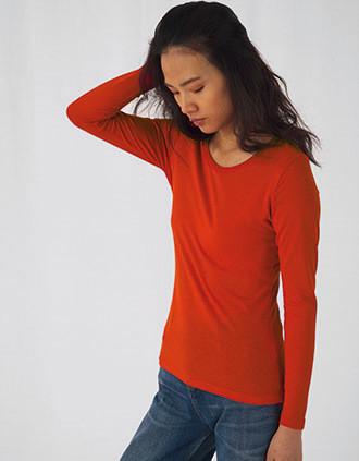 T-shirt bio Inspire femme manches longues