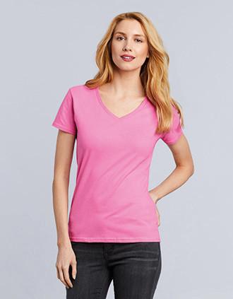 T-shirt Femme Col V Premium