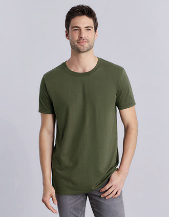 T-SHIRT HOMME COL ROND SOFTSTYLE