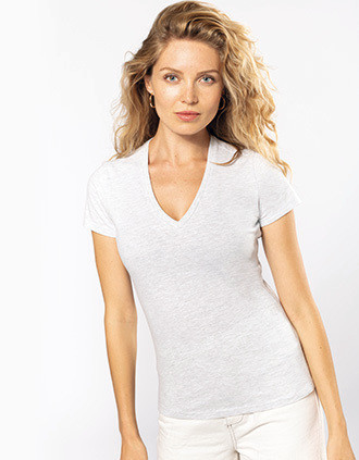 T-shirt Bio150 col V femme