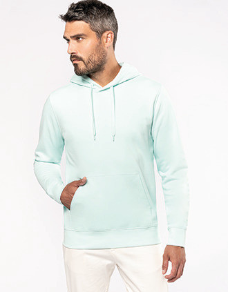Sweat-shirt écoresponsable à capuche homme