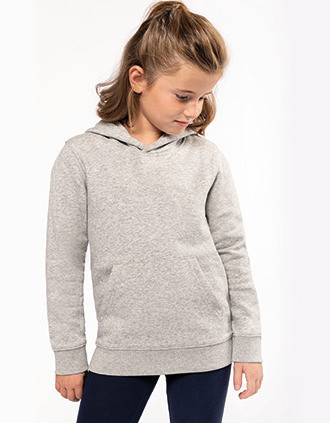 Sweat-shirt éco-responsable à capuche enfant