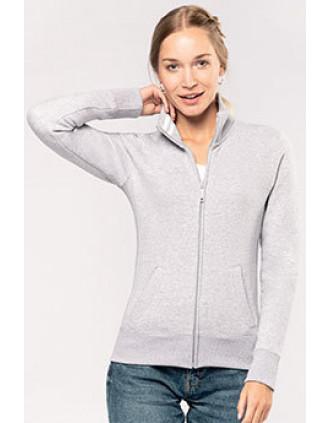 Veste molleton zippée femme