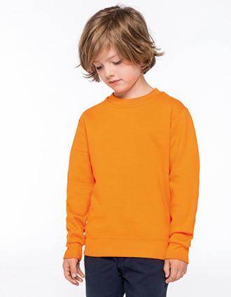 Sweat-shirt col rond enfant