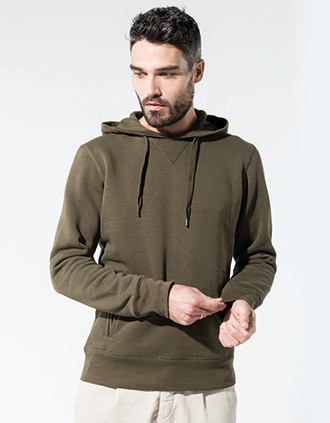 Sweat-shirt Bio capuche homme