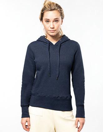 Sweat-shirt Bio capuche femme