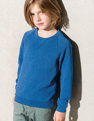 Sweat-shirt Bio manches raglan enfant