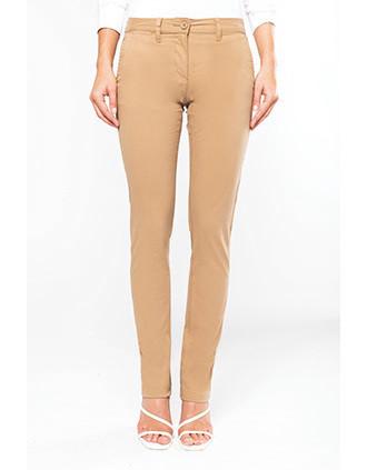 Pantalon chino femme