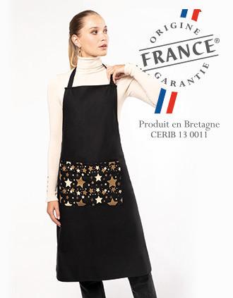 Tablier de Noël adulte Origine France Garantie