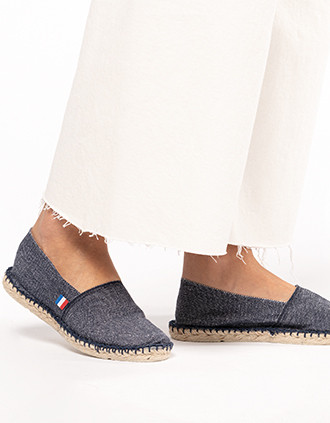 Espadrilles unisexe Made in France