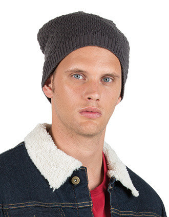 Bonnet Snowball en maille tricot