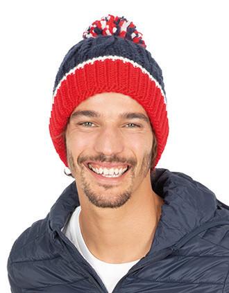 Bonnet en maille tricot