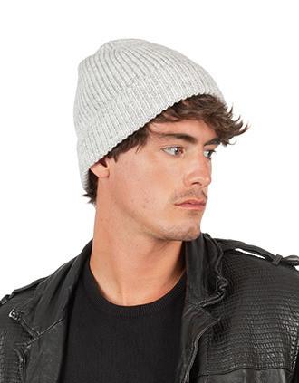 Bonnet classique tricoté en fil recyclé