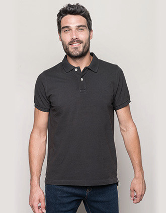 Polo vintage manches courtes homme