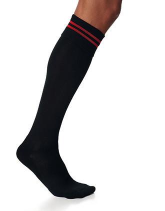 Chaussettes de sport rayées unisexe