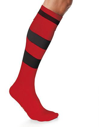 Chaussettes de sport cerclées unisexe