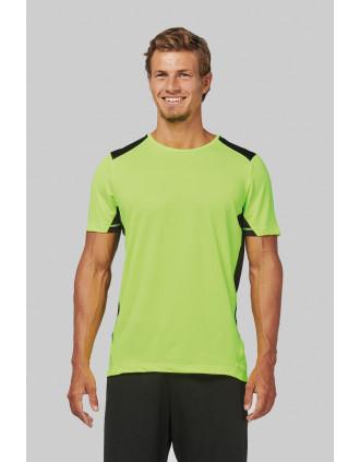 T-shirt sport bicolore