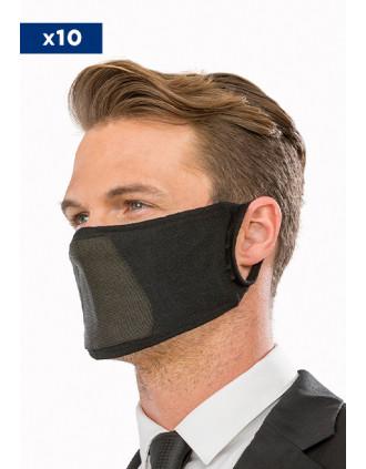Masque antibactérien lavable et réutilisable