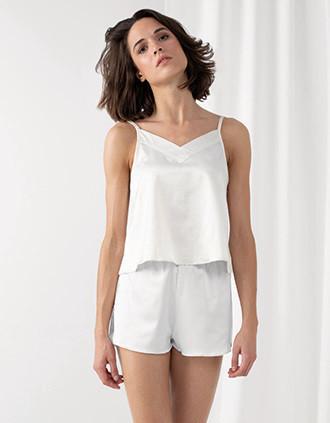 Ensemble pyjama caraco et short