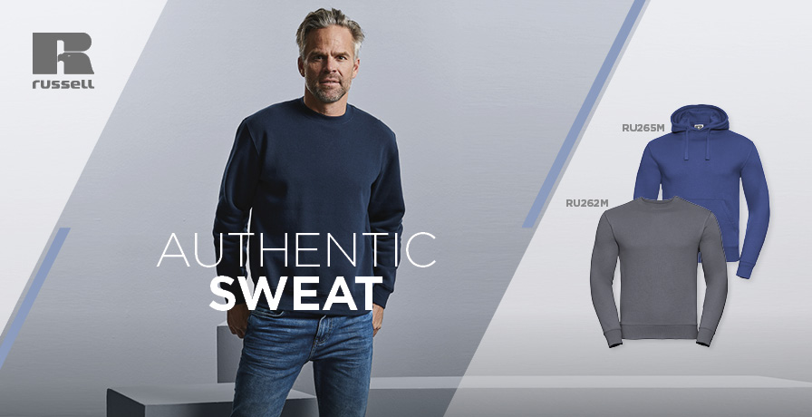 RUSSELL - AUTHENTIC SWEAT